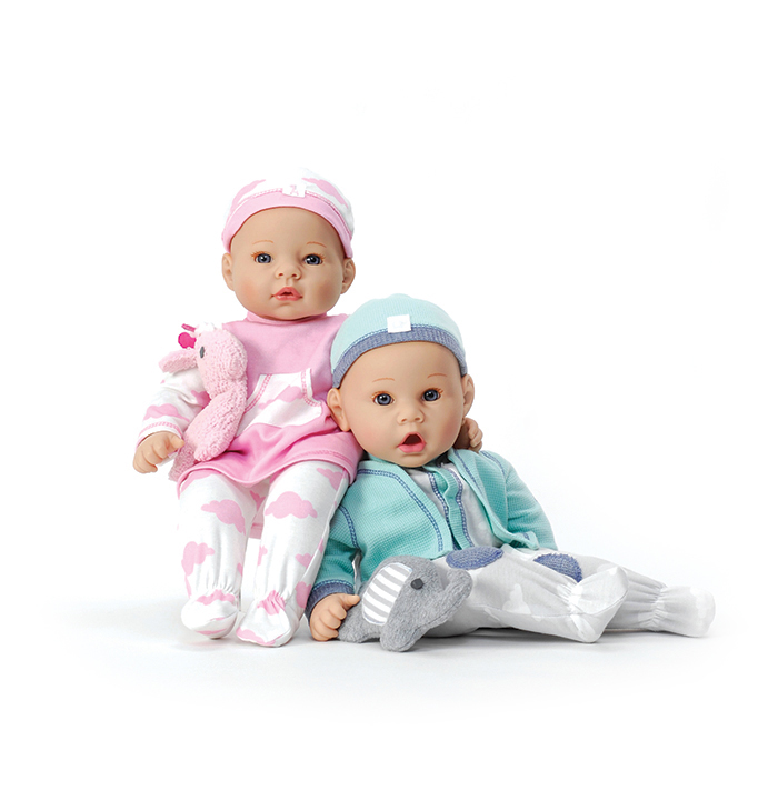 Middleton twins dolls