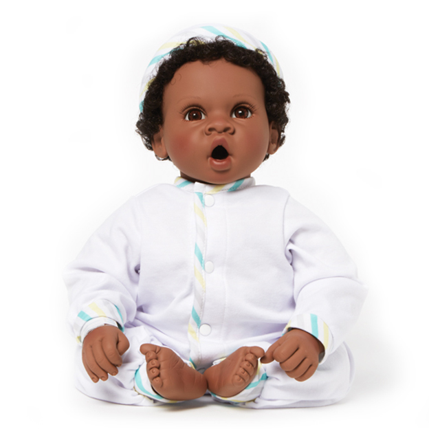 Angel Love Dark Skin Tone Brown Eyes-Black Hair doll