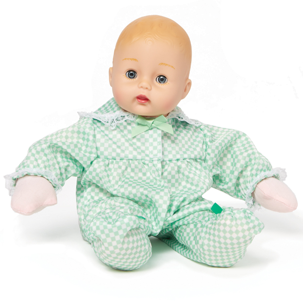 Mint Check Huggums doll