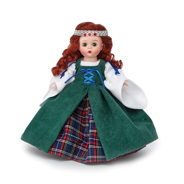 Scottish Banfhlath doll