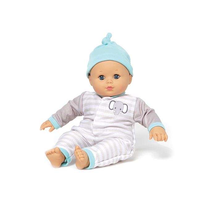 Babble Baby Stripe doll
