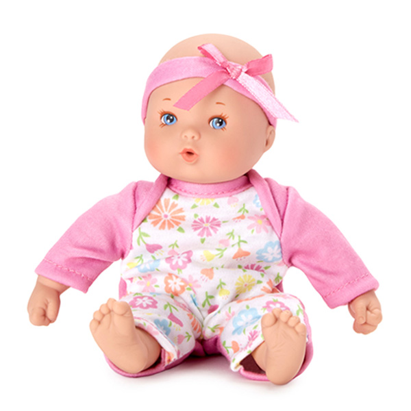 Little Cuties Pink Nurturing Doll