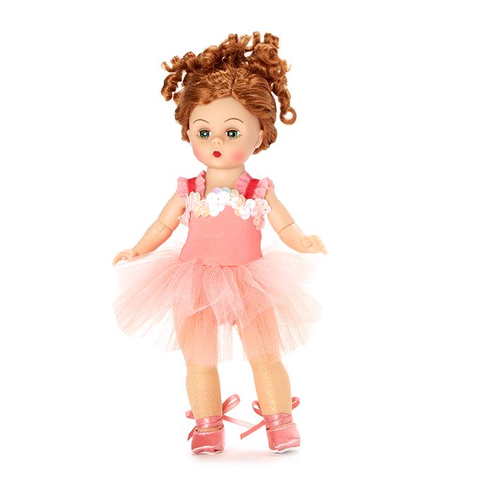 Blushing Ballerina - Medium Skin Tone Collectible Doll