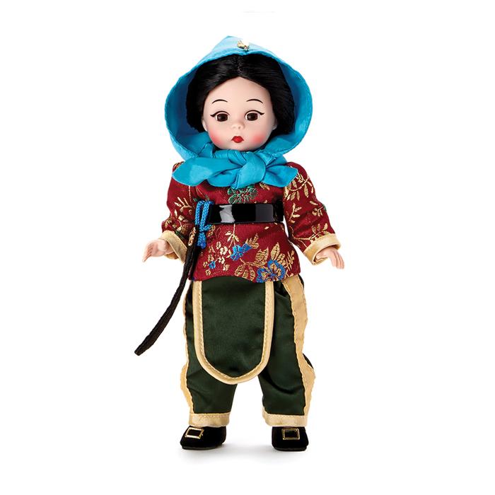 Hua Mulan Collectible Doll
