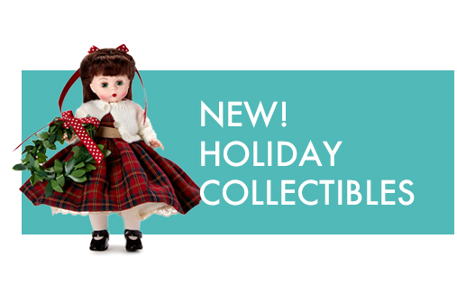 Click to Order Holiday Collectible Dolls