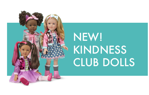 Click to order Kindness Club dolls