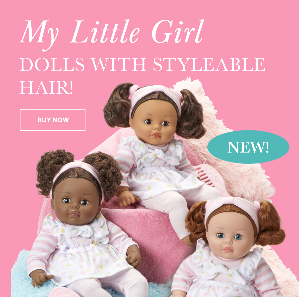Click to shop for My Little Girl dolls