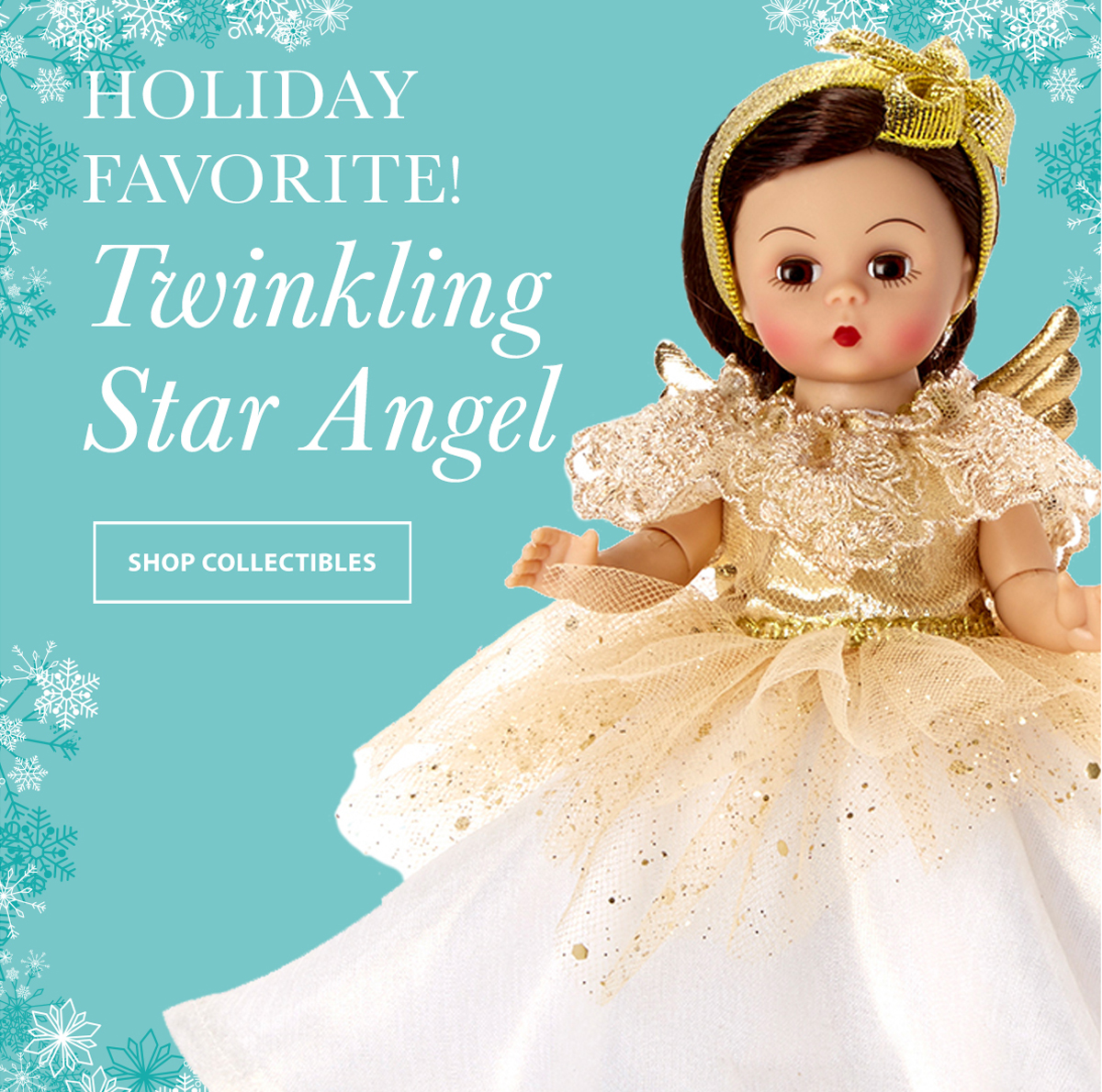 Click to shop for Twinkling Star Angel dolls