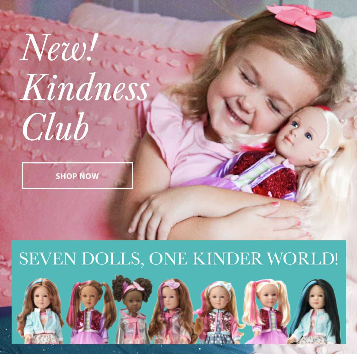 Click to shop for Kindness Club dolls
