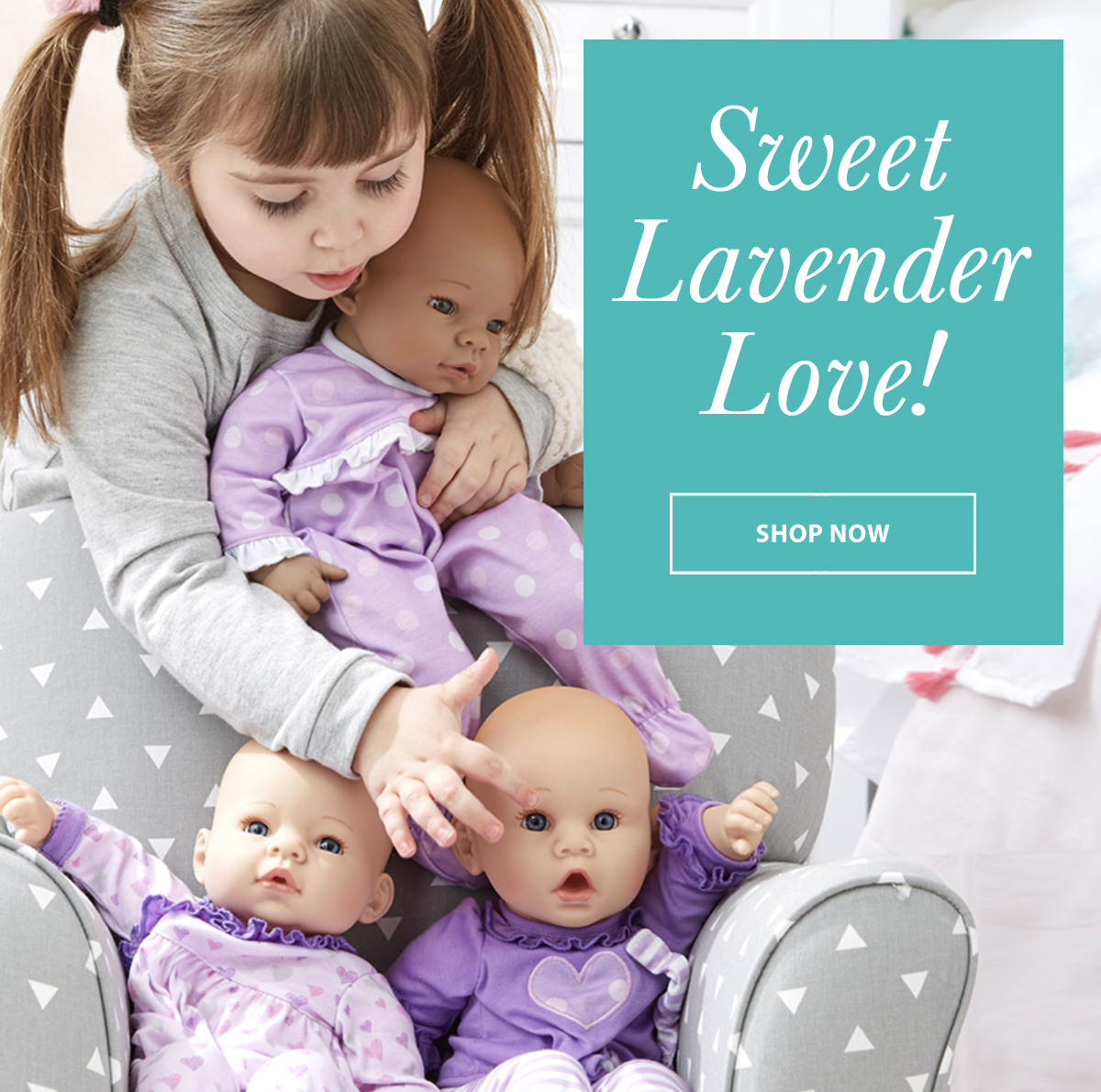 Click to shop for Lavender Love dolls