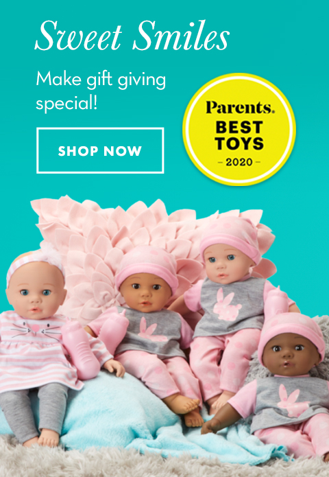 Click to shop for Sweet Smiles dolls