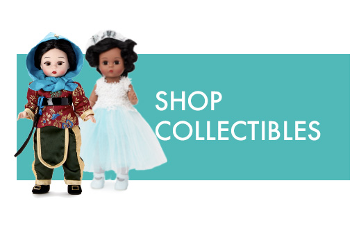Click to shop Amazon collectible dolls