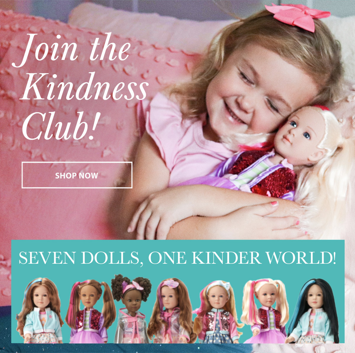 Click to buy Kindness Club dolls