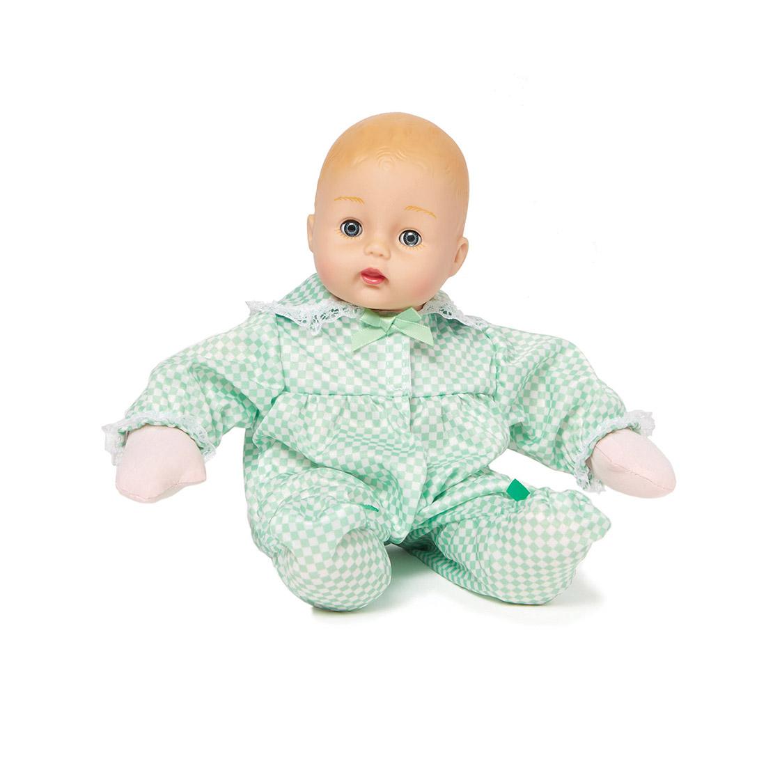 Mint Check Huggums doll