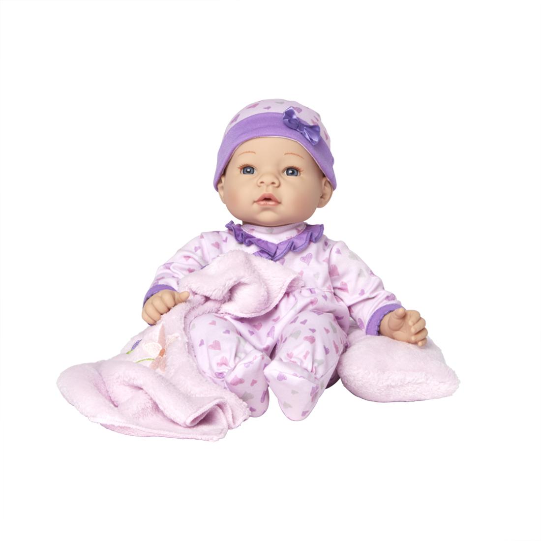 Lavender Sleeper Set light skin
